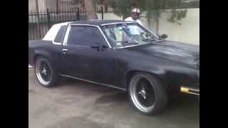 1984 cutlass supreme with 350 rocket ridin through town pt 1