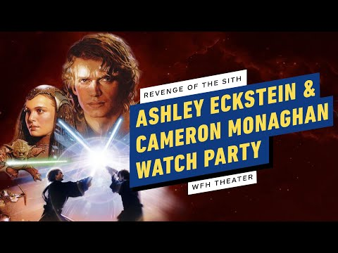 Revenge Of The Sith Watch Party W Ashley Eckstein Cameron Monaghan Wfh Theater Youtube