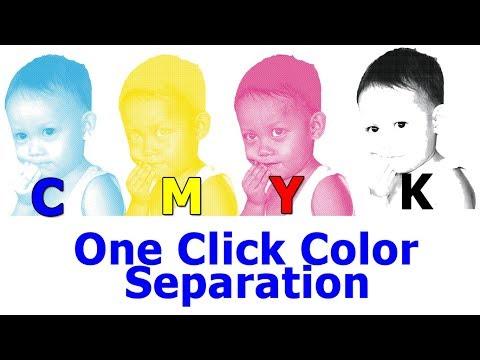 CMYK Color Separation One Click 2019