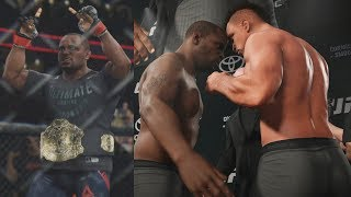 UFC 3 GOAT Career Mode - Daniel Cormier Title Fight! EA Sports UFC 3 Gameplay PS4