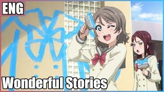 ⌈27人Chorus⌋ Wonderful Stories (Aqours) Love Live Sunshine ⌈English Chorus⌋