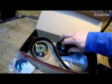 покупка и проверка комплекта для замены ремня ГРМ на рено дастер