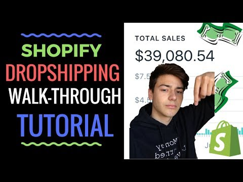 🔥 SHOPIFY DROPSHIPPING STEP BY STEP WALK-THROUGH 2017 FOR BEGINNERS 🔥