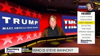 Who Is Stephen Bannon?