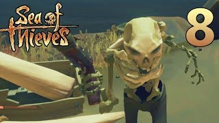 [8] Treasure Galore!!! (Sea Of Thieves Gameplay PC)