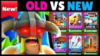 OLD vs NEW | Clash Royale JUNE Update Comparison & Highlights