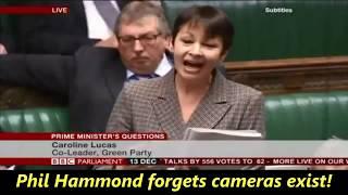 Phillip Hammond uses his selective memory.....again!