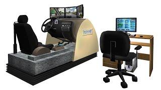 TecknoSIM Driving Simulator