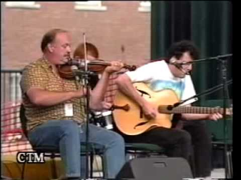 Jerry Holland with Marion Dewer & Jerry Jr. Lowell Folkfest