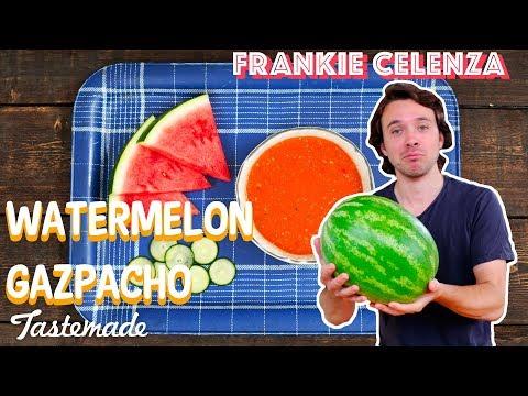 Watermelon Gazpacho | Frankie Celenza