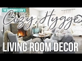 Cozy, Hygge Winter Living Room Decor Ideas