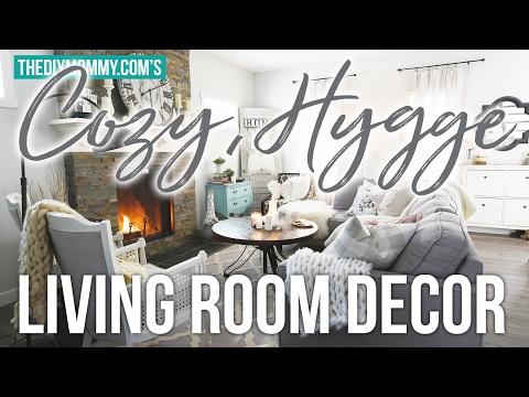 Cozy Hygge Winter Living Room Decor Ideas