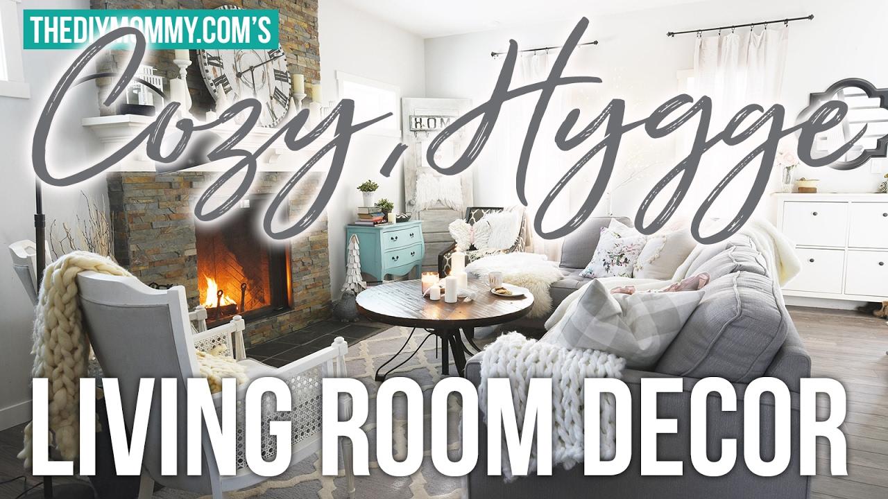 Cozy hygge winter living room decor ideas youtube for 5 diy winter room decor ideas