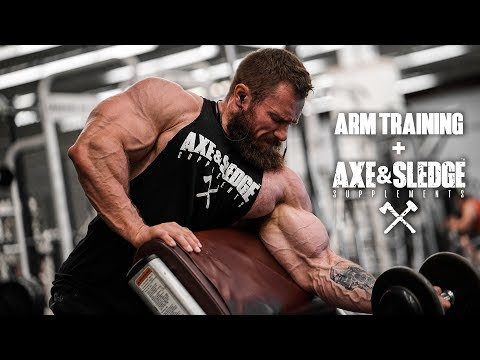 Arm Training | Axe & Sledge Supplements Lineup