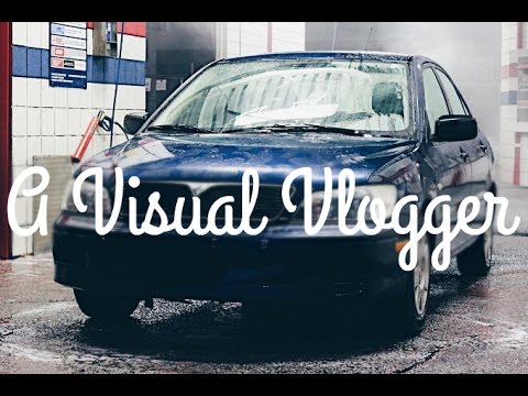 QUICK CAR WASH AND STICKER PLACEMENT | A VISUAL VLOGGER