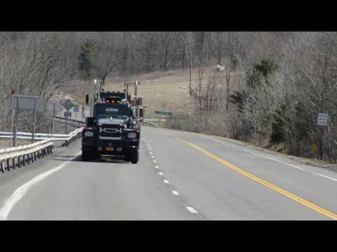 8V71 Detroit Diesel Brockway pulling Windham Mountain
