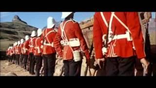 ZULU MOVIE CLIP fix bayonets WARREN BRADSHAW RIP
