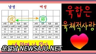 """사주 공부 기초 # 9 / """"지지 육합은"""" 남녀 육체적 사랑 ( 찰떡궁합!)"""