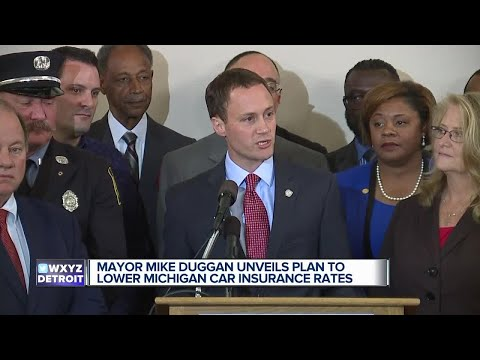 Detroit mayor unveils plan to lower Michigan auto insurance rates up to 20%