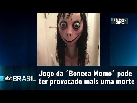 Jogo da ´Boneca Momo´ pode estar relacionado à morte de mais uma criança | SBT Brasil (31/08/18)