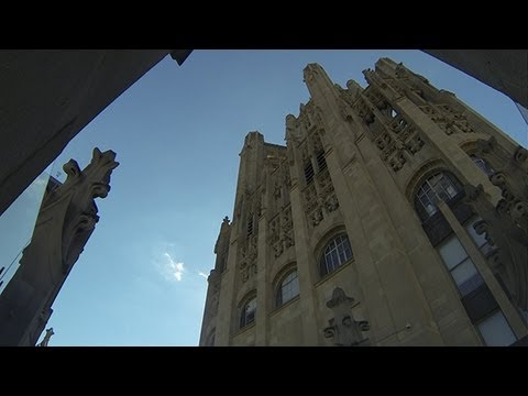 Tribune Tower: Standing upon history