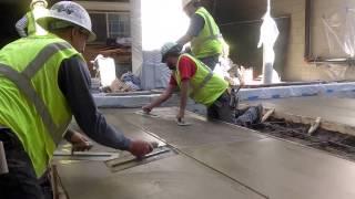 Cement Finisher @ Work