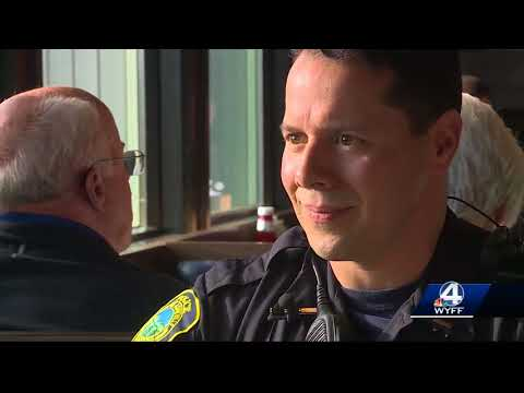 Asheville PD holds 'Coffee With a Cop' to emphasize department transparency