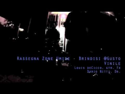 Louis DeCicco - Dario Nitti, Free Impro live @Gusto Vinile, Brindisi