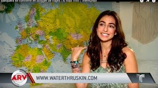 Banker becomes Travel Blogger-Telemundo Interview (English Subtitles)