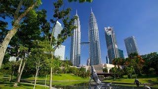 Куала Лумпур: Sushi King, Центральный парк KLCC(Видео из Куала-Лумпура, столицы Малайзии. В этом ролике Вы увидите Центральный парк около башен Петронас..., 2017-01-16T07:56:41.000Z)