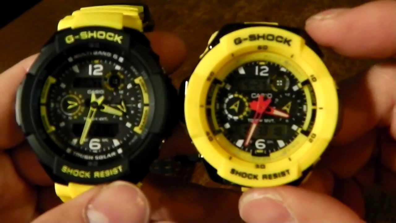 Casio g shock gw3500b yellow band swap youtube
