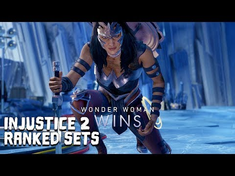 Injustice 2: Wonder Woman Ranked Sets #5