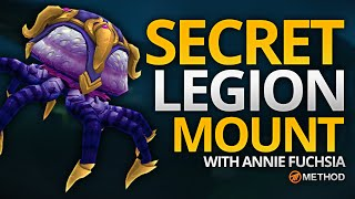 Secret Mount in Legion - Fathom Dweller Guide with Annie Fuchsia