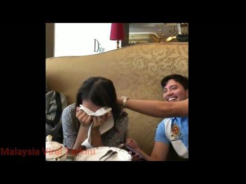 Sweet Fatah Amin Tenangkan Isterinya Ketawa Sambil Mengosok Kepala Fazura!
