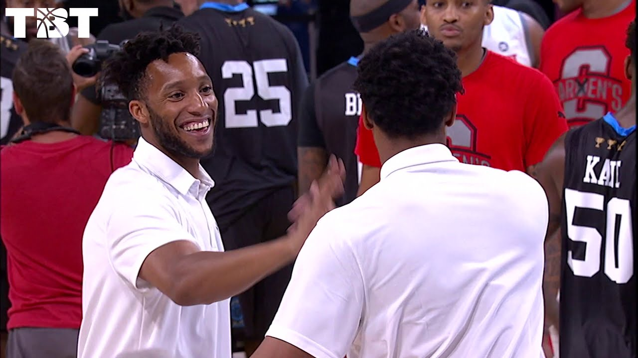 Evan Turner's Involvement in TBT and Carmen's Crew