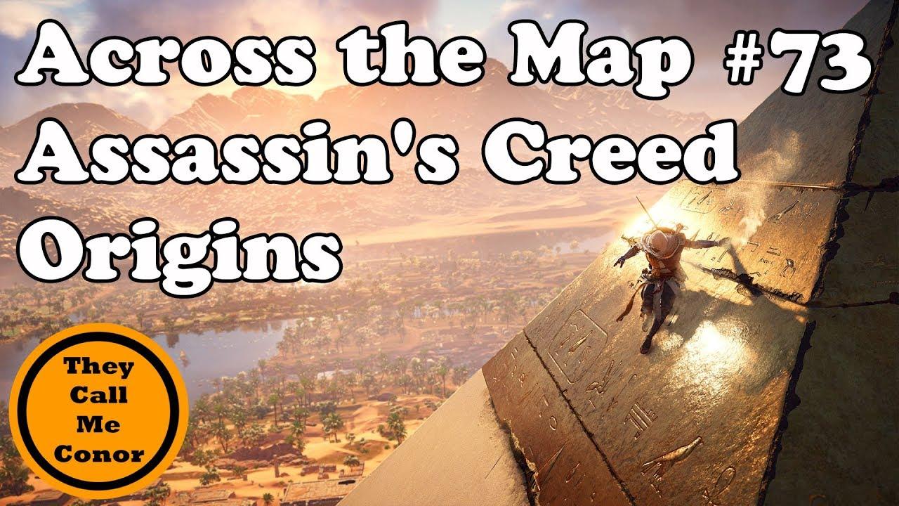 Karta Den Stora Algvandringen.Hur Lang Tid Tar Det Att Korsa Kartan I Assassin S Creed Jattelang