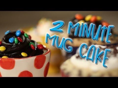 Two Minute Mug Cakes | Just Add Sugar