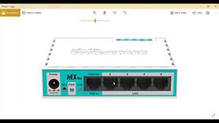Remove a Mikrotik router port from slave mode
