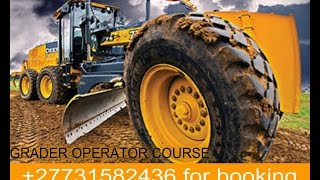 Front End Loade,tlb Operator Course +27731582436 Training School Johannesburg Polokwane
