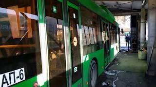 Екатеринбург. Предрейсовый осмотр автобуса МАЗ-203965