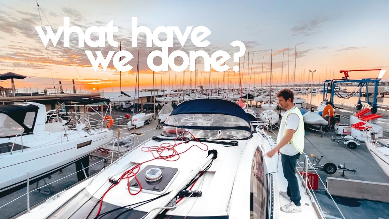 HAULED OUT: Preparing for our Aussie sailing adventure   Ep 3