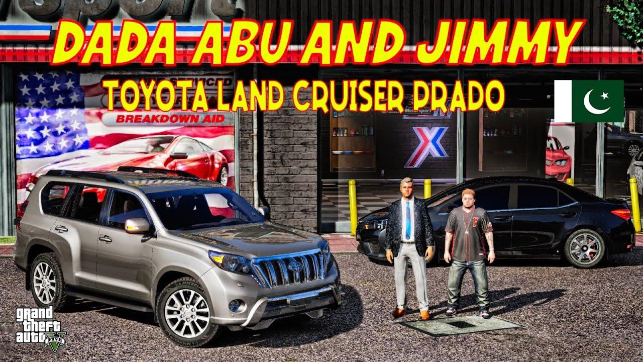GTA 5 Pakistan | DADA ABU's Car Broken | New Toyota Land Cruiser Prado | Urdu