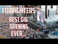 Foo Fighters - best gig opening ever... Ullevi, Gothenburg, Sweden 5/6-18