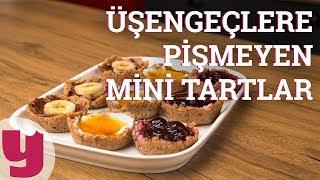 Üşengeçlere Pişmeyen Mini Tartlar (Enerji Tavan!)   Yemek.com