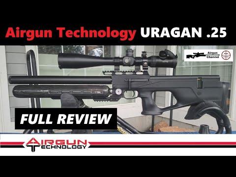 URAGAN By Airgun Technology (Full Review) .25 Caliber Bullpup PCP Air Rifle