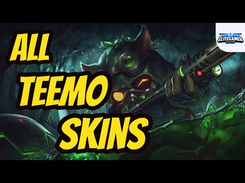 All Teemo Skins Spotlight League of Legends Skin Review