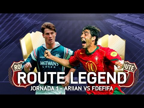 FIFA 17 | ROUTE LEGEND ARIIAN Vs FDEFIFA - GRUPO A - RUI COSTA LEYENDA #2
