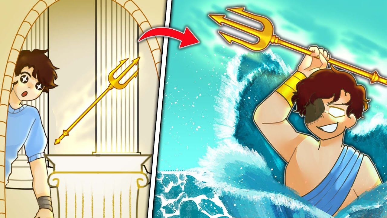 Download I EVOLVED as POSEIDON in Minecraft