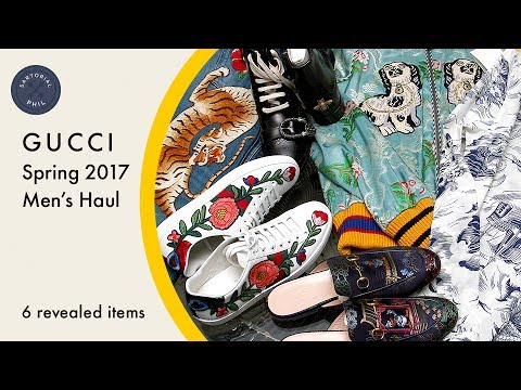 b76a3d8d45a4 EPIC* Gucci Men's Spring 2017 Haul (Alessandro Michele Items) - YouTube