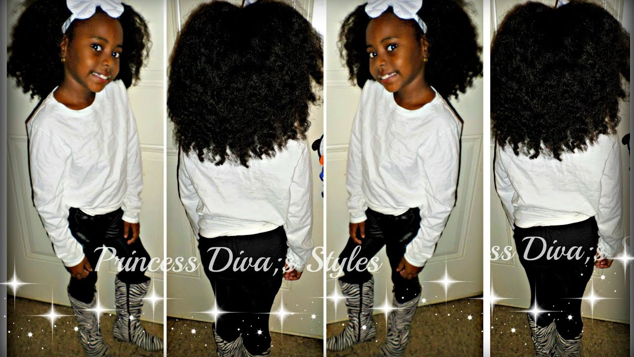 Little Girls Easy After Wash Hairstyle Braid Out Youtube